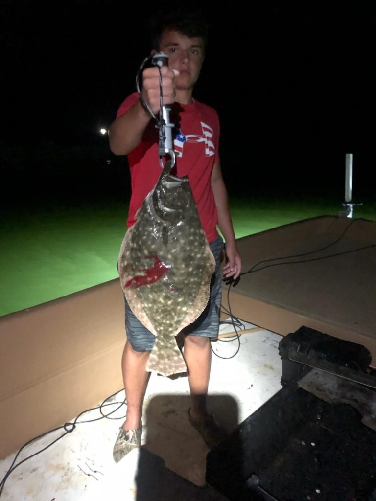 OBX Founder Fishing and Gigging